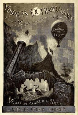 Frontispice des Voyages Extraordinaires de Jules Verne. Source : http://data.abuledu.org/URI/527f6816-frontispice-des-voyages-extraordinaires-de-jules-verne