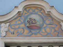 Fronton à l'escargot à Gdansk. Source : http://data.abuledu.org/URI/5234f62c-fronton-a-l-escargot-a-gdansk