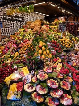 Fruits et légumes à Barcelone. Source : http://data.abuledu.org/URI/597e839c-fruits-et-legumes-a-barcelone