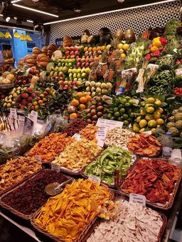 Fruits et légumes à Barcelone. Source : http://data.abuledu.org/URI/597e83b6-fruits-et-legumes-a-barcelone