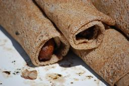 Galettes sarrasin à la saucisse. Source : http://data.abuledu.org/URI/534bfdde-galettes-sarrasin-a-la-saucisse