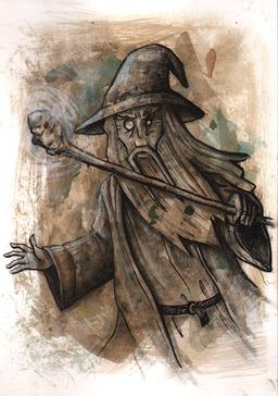 Gandalf dans le Seigneur des Anneaux. Source : http://data.abuledu.org/URI/53bab91d-gandalf-dans-le-seigneur-des-anneaux