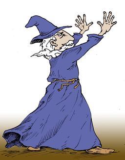 Gandalf jetant un sort. Source : http://data.abuledu.org/URI/53babfde-gandalf-jetant-un-sort