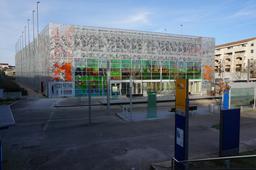 Garage du tramway de Mérignac. Source : http://data.abuledu.org/URI/534c3da4-garage-du-tramway-de-merignac