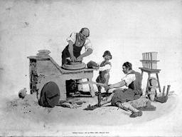 Garçon anglais travaillant pour un potier en 1804. Source : http://data.abuledu.org/URI/58caea99-garcon-anglais-travaillant-pour-un-potier-en-1804