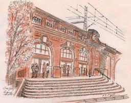 Gare de Gagny. Source : http://data.abuledu.org/URI/514dbf4b-gare-de-gagny