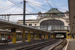 Gare de Limoges. Source : http://data.abuledu.org/URI/54a825aa-gare-de-limoges