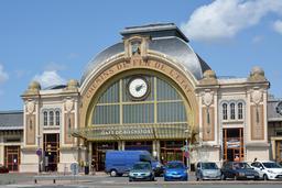 Gare de Rochefort. Source : http://data.abuledu.org/URI/55592a0b-gare-de-rochefort