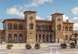 Gare de Roskilde au Danemark. Source : http://data.abuledu.org/URI/56e5d46b-gare-de-roskilde-au-danemark