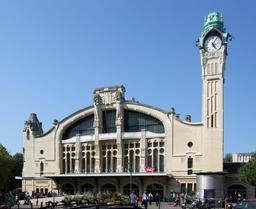 Gare de Rouen. Source : http://data.abuledu.org/URI/501e296f-gare-de-rouen