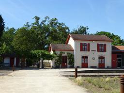 Gare de Sabres. Source : http://data.abuledu.org/URI/5828456f-gare-de-sabres