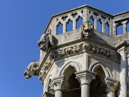 Gargouilles de la cathédrale de Laon. Source : http://data.abuledu.org/URI/5652cafb-gargouilles-de-la-cathedrale-de-laon