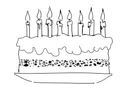 Gâteau d'anniversaire. Source : http://data.abuledu.org/URI/50265357-gateau-d-anniversaire
