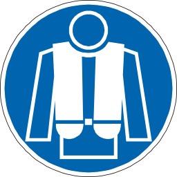 Gilet de sauvetage obligatoire. Source : http://data.abuledu.org/URI/51bf6316-gilet-de-sauvetage-obligatoire