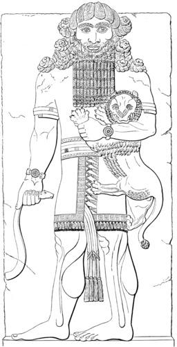 Gilgamesh. Source : http://data.abuledu.org/URI/545de83c-gilgamesh