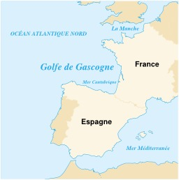Golfe de Gascogne. Source : http://data.abuledu.org/URI/51ccbb07-golfe-de-gascogne