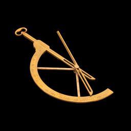 Goniomètre du 18ème siècle. Source : http://data.abuledu.org/URI/52acd10f-goniometer-img-4841-jpg