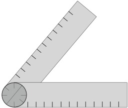 Goniomètre. Source : http://data.abuledu.org/URI/52acceeb-goniometre