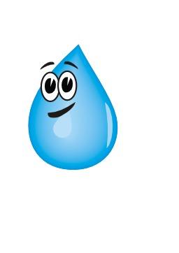 Goutte d'eau souriante. Source : http://data.abuledu.org/URI/540a0c3d-goutte-d-eau-souriante