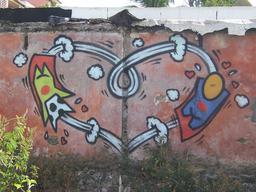 Gouzou et son amoureuse à La Réunion. Source : http://data.abuledu.org/URI/537e3378-gouzou-et-son-amoureuse-a-la-reunion