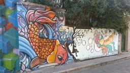 Graffiti du sous-marin des Beatles. Source : http://data.abuledu.org/URI/537e4e53-graffiti-du-sous-marin-des-beatles