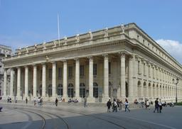Grand Théâtre de Bordeaux. Source : http://data.abuledu.org/URI/5547bedc-grand-theatre-de-bordeaux