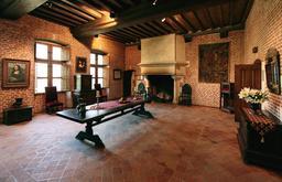 Grande salle du château du Clos Lucé. Source : http://data.abuledu.org/URI/54b9908c-grande-salle-du-chateau-du-clos-luce