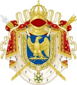 Grandes Armes Impériales de 1804 à 1815. Source : http://data.abuledu.org/URI/5522ddcf-grandes-armes-imperiales-de-1804-a-1815