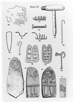 Gravures mégalithiques. Source : http://data.abuledu.org/URI/591baca8-gravures-megalithiques