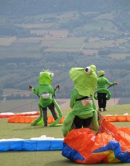 Grenouilles volantes de la Coupe Icare. Source : http://data.abuledu.org/URI/52710c4a-grenouilles-volantes-de-la-coupe-icare