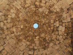 Gros-plan sur la coupole des Thermes de l'Ouest à Jerash. Source : http://data.abuledu.org/URI/54b59750-gros-plan-sur-la-coupole-des-thermes-de-l-ouest-a-jerash