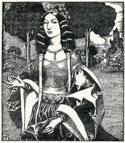 Guenièvre en 1903. Source : http://data.abuledu.org/URI/5950af20-guenievre-en-1903