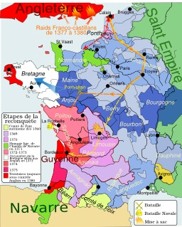 Guerre de cent ans : Charles V. Source : http://data.abuledu.org/URI/50708e7c-guerre-de-cent-ans-charles-v