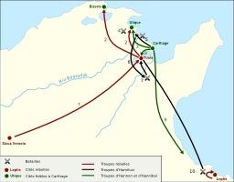 Guerre des mercenaires à Carthage. Source : http://data.abuledu.org/URI/520d0ac4-guerre-des-mercenaires-a-carthage