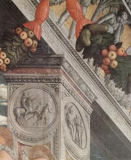 Guirlande architecturale de la Renaissance. Source : http://data.abuledu.org/URI/5352396b-guirlande-architecturale-de-la-renaissance