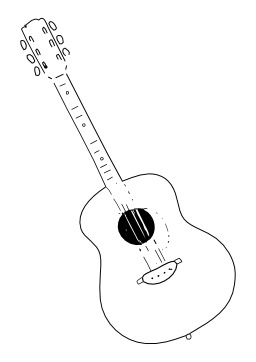 Guitare. Source : http://data.abuledu.org/URI/50268d34-guitare