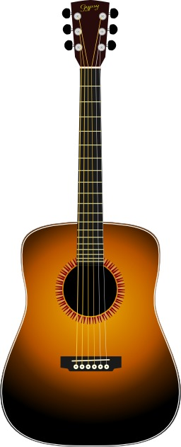 Guitare acoustique. Source : http://data.abuledu.org/URI/504a2164-guitare-acoustique