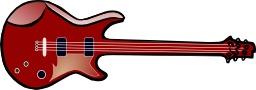 Guitare électrique. Source : http://data.abuledu.org/URI/504b9189-guitare-electrique