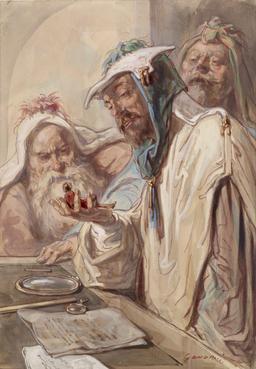Gulliver et les philosophes de Brobdingnag. Source : http://data.abuledu.org/URI/5150b461-gulliver-et-les-philosophes-de-brobdingnag