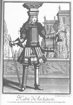 Habit d'architecte au XVIIème siècle. Source : http://data.abuledu.org/URI/54ccbb7f-habit-d-architecte-au-xviieme-siecle