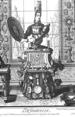 Habit d'orfèvre au 17ème siècle. Source : http://data.abuledu.org/URI/592b52c5-habit-d-orfevre-au-17eme-siecle