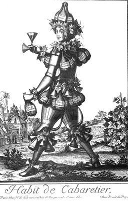 Habit de cabaretier au 17ème siècle. Source : http://data.abuledu.org/URI/592b878c-habit-de-cabaretier-au-17eme-siecle