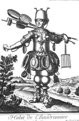 Habit de chaudronnier au 17ème siècle. Source : http://data.abuledu.org/URI/592b957c-habit-de-chaudronnier-au-17eme-siecle