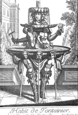 Habit de fondeur au 17ème siècle. Source : http://data.abuledu.org/URI/592c312f-habit-de-fondeur