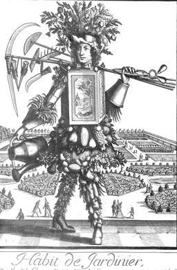 Habit de jardinier au 17ème siècle. Source : http://data.abuledu.org/URI/592c7ab2-habit-de-jardinier-au-17eme-siecle