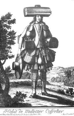 Habit de malletier-coffretier au 17ème siècle. Source : http://data.abuledu.org/URI/592c8108-habit-de-malletier-coffretier-au-17eme-siecle