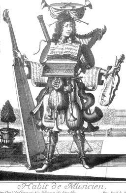 Habit de musicien au 17ème siècle. Source : http://data.abuledu.org/URI/592c9958-habit-de-musicien-au-17eme-siecle