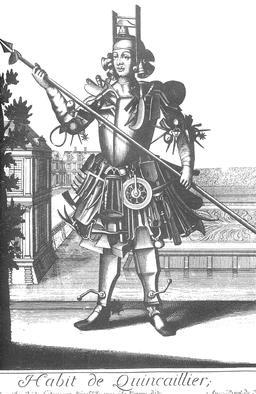 Habit de quincailler au 17ème siècle. Source : http://data.abuledu.org/URI/593175d4-habit-de-quincailler-au-17eme-siecle