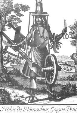 Habit de rémouleur au 17ème siècle. Source : http://data.abuledu.org/URI/59317686-habit-de-remouleur-au-17eme-siecle