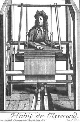 Habit de tisserand au 17ème siècle. Source : http://data.abuledu.org/URI/592a46dc-habit-de-tisserand-au-17eme-siecle